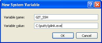 plink-git-ssh-env