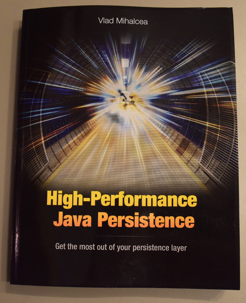 The print version of High-Performance Java Persistence