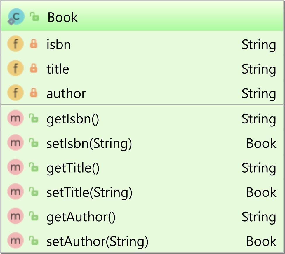 Book entity