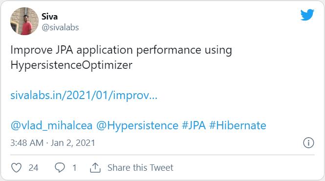 Hypersistence Optimizer Twitter Siva 2